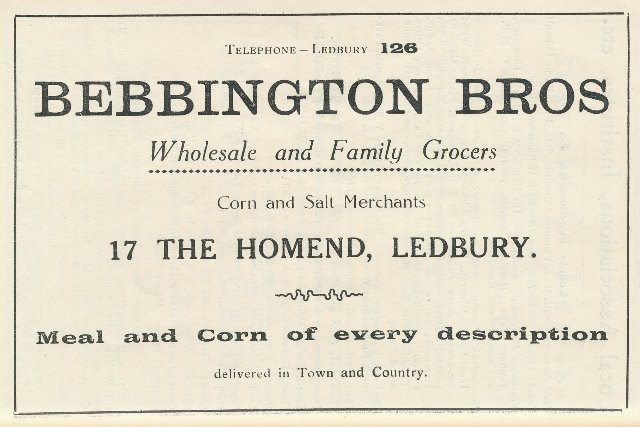 [Bebbington Advert]