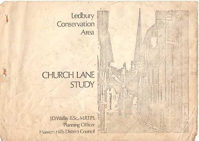[1975 - Ledbury Conservation Area]