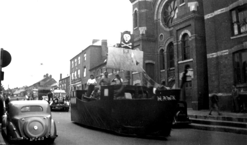 [1953 Ox Roast The Parade]