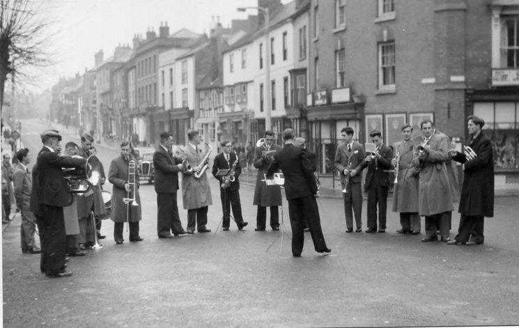 [Town Band High Street]