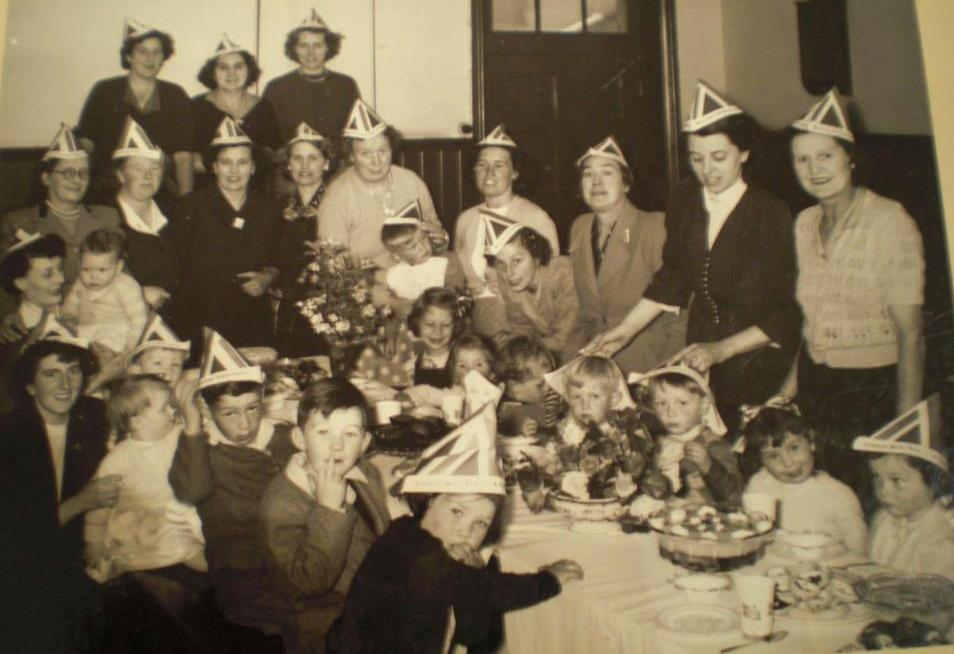[1953 Church Street Tea Party]