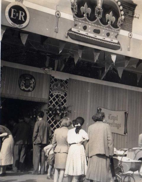 [1957 Queen Elizabeth II]